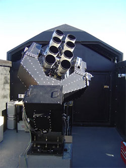 SuperWASP telescopes in the Canary Islands and South Africa